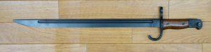 画像_三十年式 銃剣 タナカ三八式用 銃剣のみ、鞘は無し01
