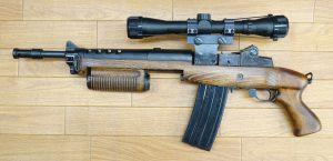 画像_大門タイプ M14カスタムライフル   参考品01