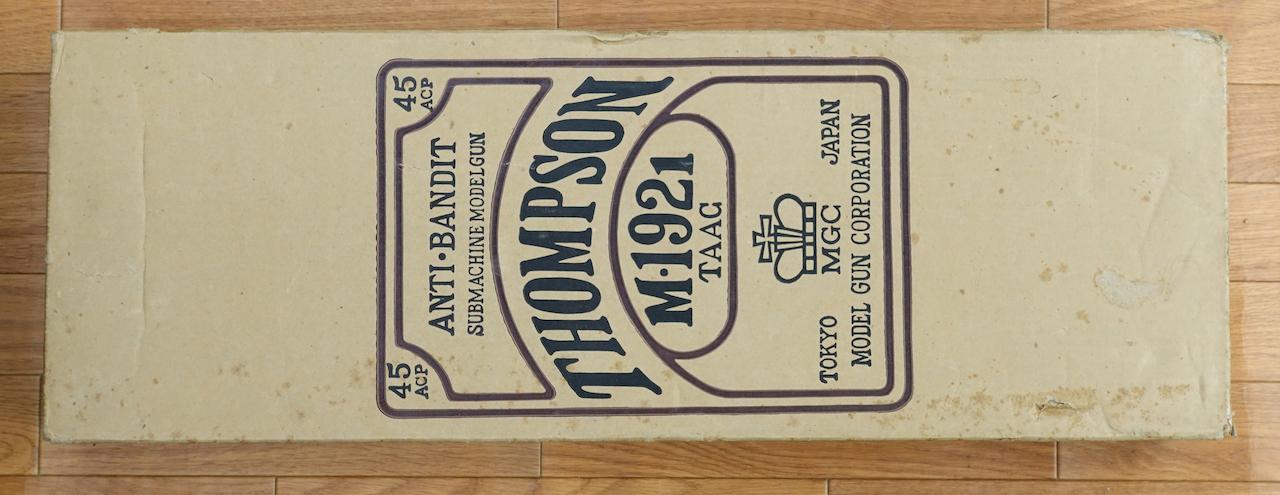 画像_1921トンプソン ミリタリー 30連マガジン付き 映画コンバット仕様01