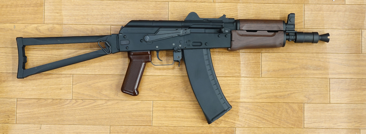 画像_AK-74Uガスブローバック 特価4万7千円01