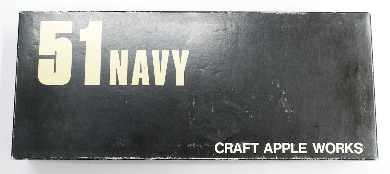 画像_51NAVY 丸バレル・ブルーイングモデル 真鍮ストラップ 木グリ付き01