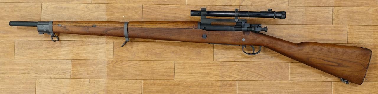 画像_スプリングフィールド M1903A4 スコープ付き01
